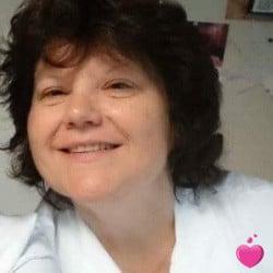 Photo de Lyly, Femme 57 ans, de Saint-Mathurin-sur-Loire Pays-de-la-Loire