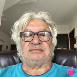 Photo de Luky42, Homme 70 ans, de Cannes Provence-Alpes-Côte-dʿAzur