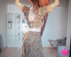 un petit bout de moi et des photos (désolé pour la qualité) de mes chorégraphies de danse