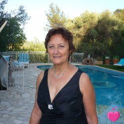 Photo de chrisnette, Femme 66 ans, de Toulon Provence-Alpes-Côte-dʿAzur
