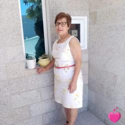Foto de Lulu74, Mulher 68 anos, de Mieussy Rhône-Alpes